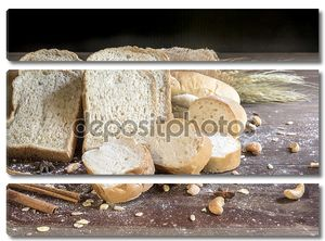 Крупный план хлеба