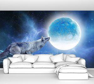 Волк и луна