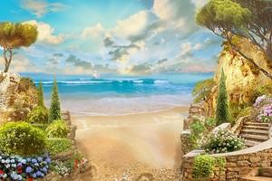 Золотой берег рядом с садом