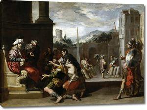 Кастильо и Сааведра Антонио. Иосиф приказывает Симеону остаться