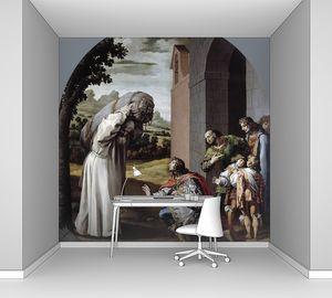 Кардучо Висенте. Смирение графа Гийома II Неверского