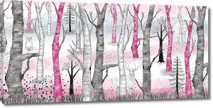 Sherwood-Лес с розовыми деревьями
