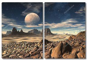 Чужеродные Планета ландшафт