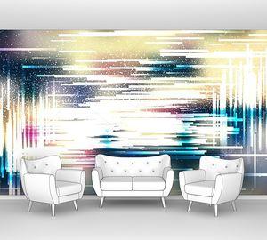 Художественный абстрактный фон, векторная иллюстрация