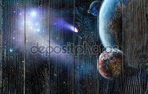Атака комет из космоса