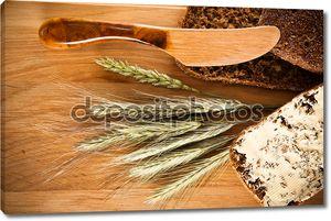 Натюрморт с хлебом и шипы