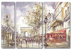 Осенние улочки Парижа