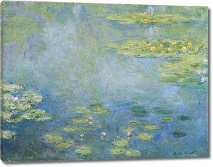Клод Моне. Кувшинки (водяные лилии)