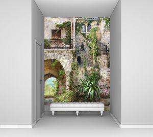 Лестница ведущая в дом