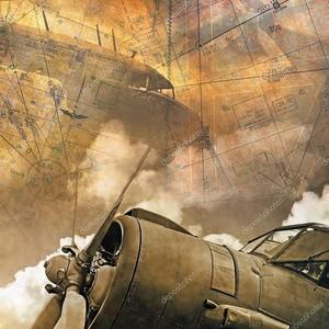 Гранж-фон с авиацией