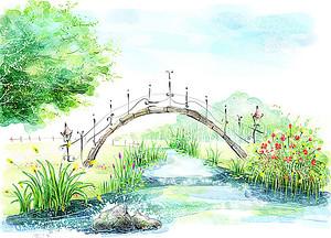 Ажурный мостик
