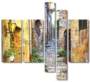 очаровывание старых улиц Средиземноморья