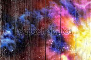 Туманность разноцветная