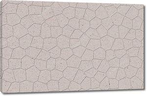 Мраморная текстура в виде полигональной плитки