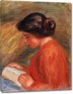 Пьер Огюст Ренуар. Чтение молодой женщины