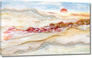 Закат в нефритовых горах