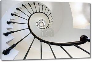 Лестница внутри маяка