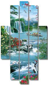 Водопад в Китае