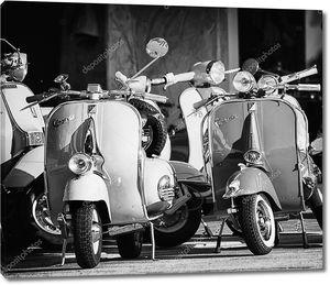 Piaggio Vespa Винтаж спринт мотороллер мотоцикл мотоцикл