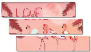 Фламинговая любовь