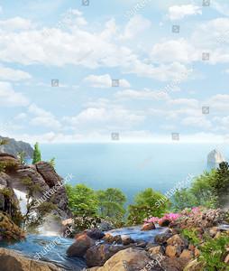 Ручьи на берегу