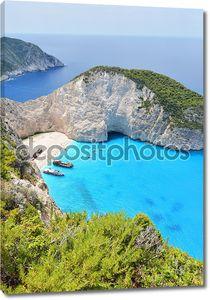 Навагио Бич в Греции