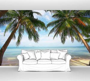 Рай на пальмовом пляже