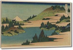Кацусика Хокусай. Озеро в Хаконэ в провинции Сагами