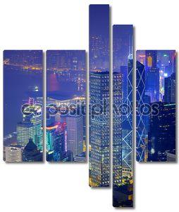 Гонконг с высоты птичьего полета