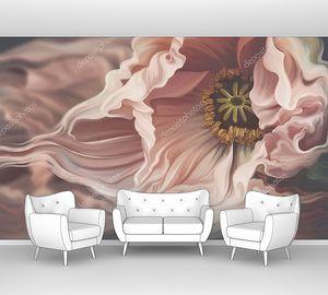 Цветок с волнистыми лепестками