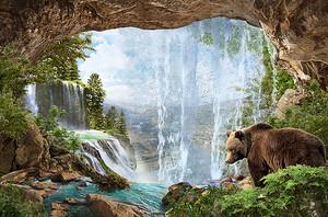 Медведь в пещере