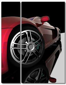 Крупным планом колес