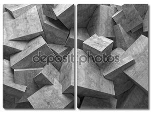 Стена кубов