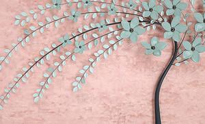 Абстрактное цветущее дерево