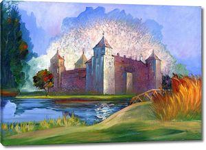 Нарисованный замок