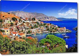 Живописные греческие острова