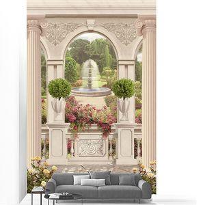 Прекрасная веранда с видом на сад