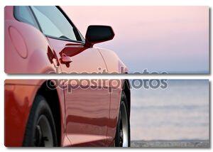 Современный спортивный автомобиль