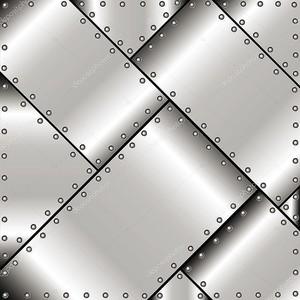 Фон из металлических пластин