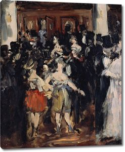 Эдуард Мане. Бал-маскарад в опере
