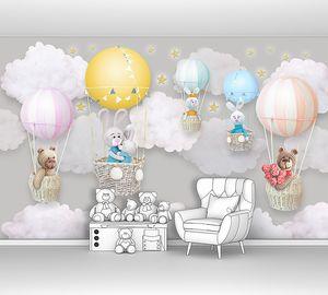 Игрушки на воздушных шарах