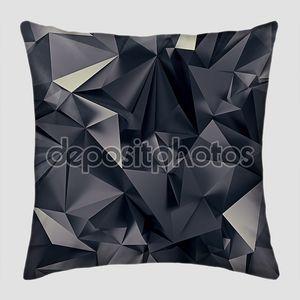 абстрактная черная космическая футуристическая структура