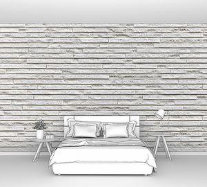 Фон и текстура современной плитки из белого бетона или цемента
