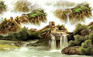 Древняя китайская стена