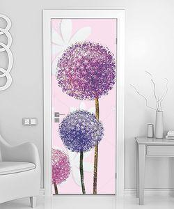 Цветочные шары на стеблях