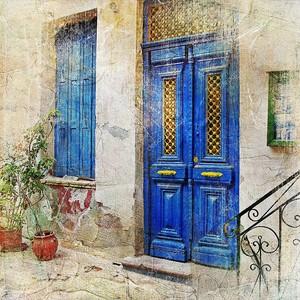 Традиционная греческая улица