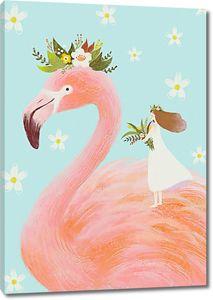 Принцесса на фламинго