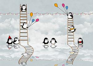 Праздник у пингвинят