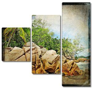 Сейшельские острова, каменистый пляж