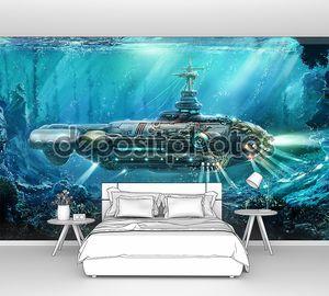 фантастический подводная лодка